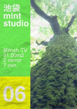 池袋ミントスタジオの近くにあるユリノキ