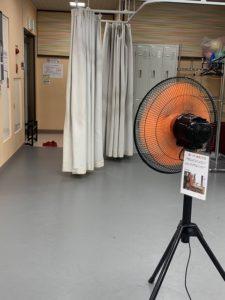 換気 工業扇 扇風機 池袋 レンタルスタジオ ウイルス対策